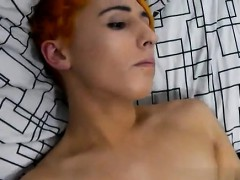 Gay porn Bright orange haired Leo Quin joins us in the HomoE