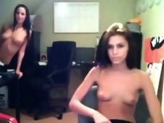 Two Girls Playing on WebcamWebcam Girls