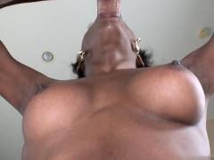 Big tits deepthroat cum