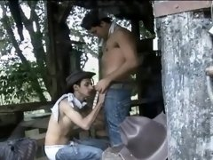 Gay Latino Cowboy Fuck His Man