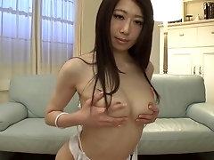 Delightful Ryo Makoto in private amateur sex tape
