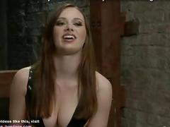 Horny lesbian slut ass toyed and fisted by BDSM mistress