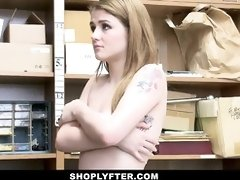 ShopLyfter - Teenager Thief Banged by Security Guard