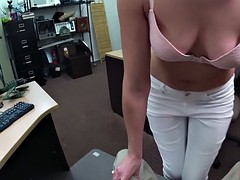 Customers wife drilled nasty pawn guy