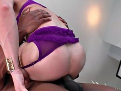 Interracial anal sex transexual