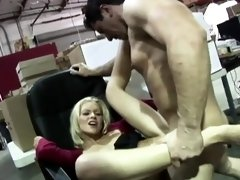 Lovely Lena has her wet pussy drilled