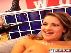 All Internal Jennifer's pussy has milk squirt and cum shot