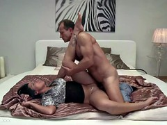 He left her a creampie to remember him by