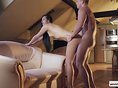 Anna Rose in a passionate noon sex