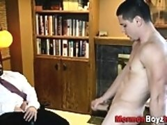 Taboo elder cum anointed