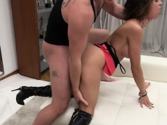 Lustful hottie Malena gets her ass pumped hard and deep
