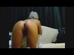 Hot babe homemade anal