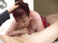 cum on big hairy granny
