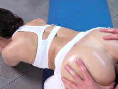 Yoga Student Kimber Woods Gets Her Anus Stretched