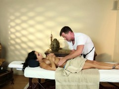 Perfect milf titfucked by masseur