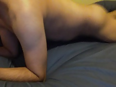 Fucking the bed