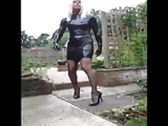 PatsyPVC PVC Fetish Slut Transvestite