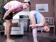Sticky yoga workout finale