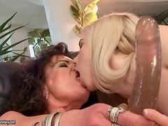 Grandmas and Teens in Nasty Lesbian Action