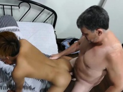 Daddy Bareback Fucks Asian Boy Nishi