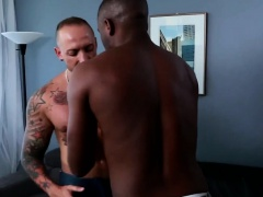 Gay interracial sex with ebony JP Richards