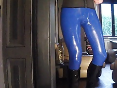 new latex catsuit