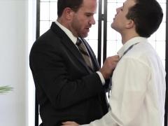 Mormon elder barebacked