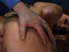unbelievably hardcore BDSM rope sex with anal action