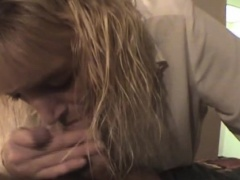 Aged Blonde Street Whore Sucking Dick Point Of View