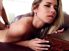 Blonde milf Alana Luv picked up and fucked in Philly