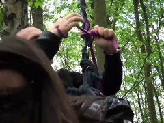 Julie Jodar Hot Forest Bondage