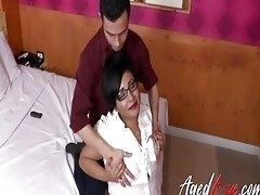 AgedLovE Hot Latin Mature Hardcore Action Video