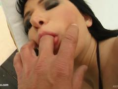 Lora Row gets anal sex Perfect Gonzo style by Ass Traffic