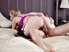 bewitching british babe in erotic lingerie grace harper gets nailed in a bedroom