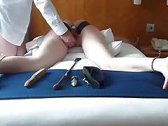 Ass Plugged & Punished