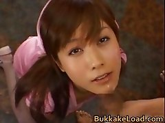Hime Kamiya Asian teen in hard part2
