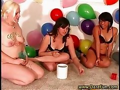 Sexy real teens party