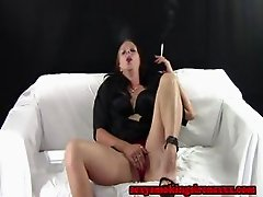 Smoking Fetish - Heaven Boy Short Cigarette Masturbation