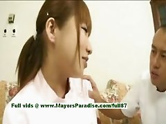 Myuu Hasegawa innocent pretty asian girl gets teased