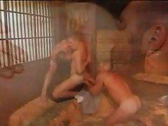 Threesome in the farm