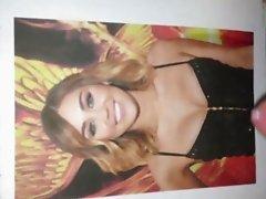 Miley Cyrus Cummed