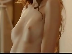 sweet brunet solo masturbation
