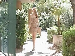 Ftv girl,Misty,cute blonde girl masturbating outdoor