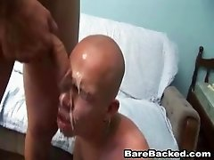 Barebacking His Dirty Deep Anal Hole